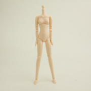 [23BD-F03-G]23cm Obitsu Body SBH Female Breast Size M (with Magnet) White Skin Color