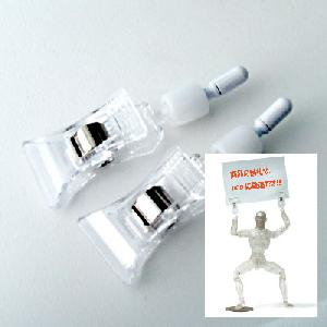 [27AC-RP002C]Clip Hand Parts set (Male) Clear Color