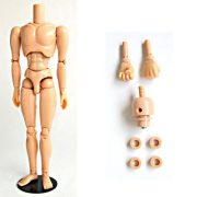 [27BD-M02B-G]27cm Obitsu Body Male (with Magnet) Natural Skin Color