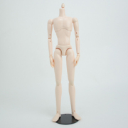 [27BD-M03-G]27cm Obitsu Body Slim Male (New Type) with magnet White Skin Color