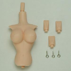 [27RP-F04-21]Upper Body and Neck Parts set for 27cm Obitsu Body Soft Breast L