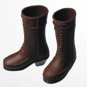 [27SH-F004D]Short Boots(Female) Brown