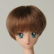 [27WG-M01-02]1/6 Wig M Short Maroon Brown