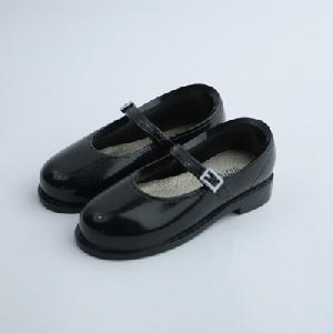[60SH-F008B-G]Shoes (Black) with Magnet