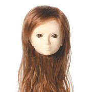 [60WG-L03-02]Wig L Long Maroon Brown
