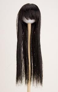 [60WG-L05-BK]Wig L Long Straight Black
