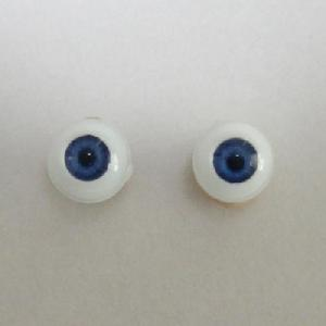 [EY06-G02]Glasstic eyes 6mm Blue